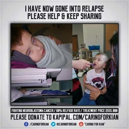 RT @1979IRISHGAL: @lemontwittor 3 year old @caringforkian needs £550k cancer treatment in the USA.Donate @ https://t.co/VlFxmPg7Q0 RT https…