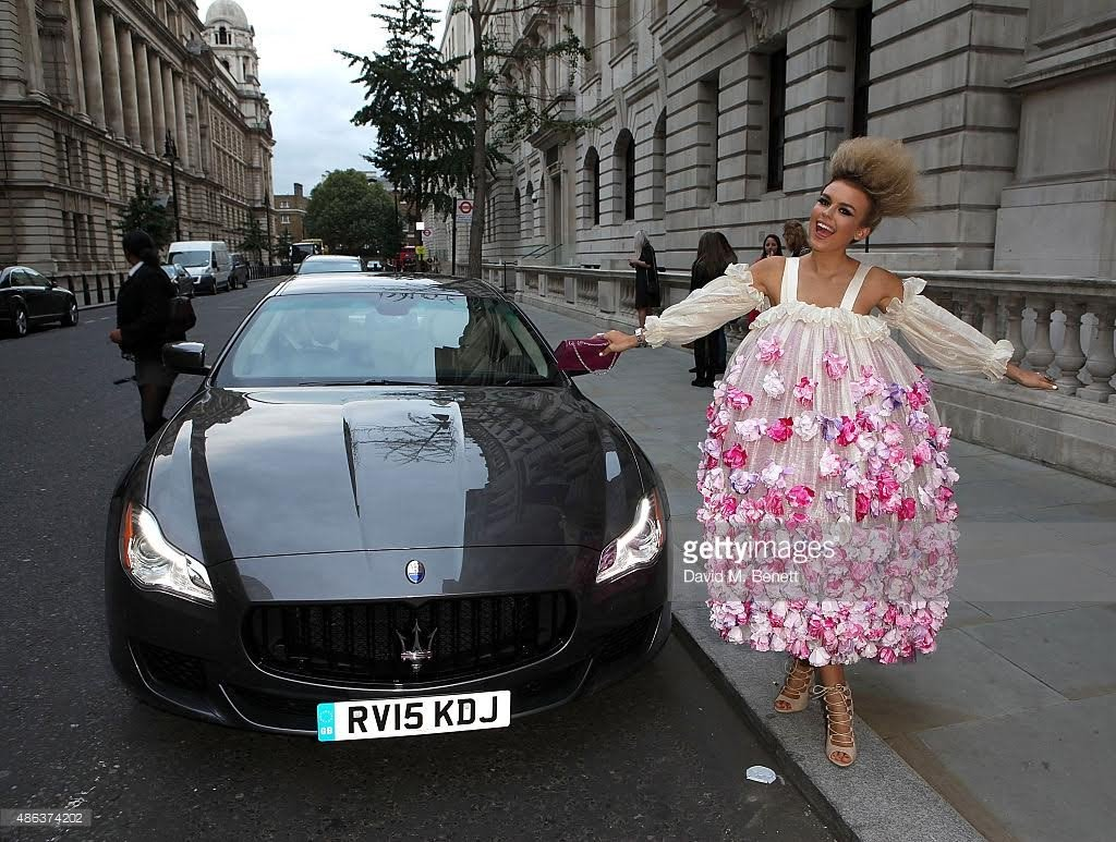 .@Tallia_Storm partners with @MaseratiGB for London Fashion Week https://t.co/pQAGhu8gME #LFW @hartmannmedia https://t.co/giXiRfwEfK