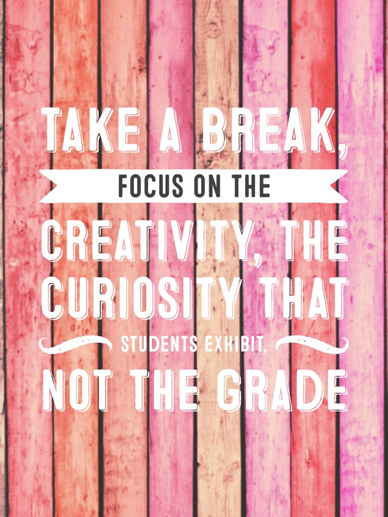 The importance of creating a culture of curiosity, learning, not always finishing! #2degreesedu #5sigma @ktenkely https://t.co/qSWe5pUWE3