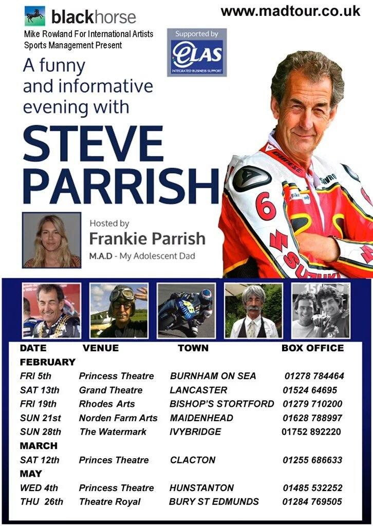 Need a good laugh after the last few rotten months I've had...see you on the 13th @Stavros6 @madtour2016 https://t.co/2q53EuaA4U