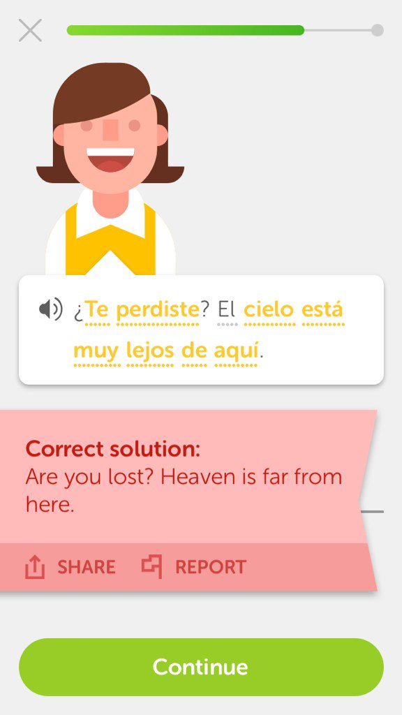To pick up in spanish