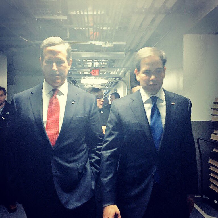 So thankful & grateful for your support. Just not our year. So today please join me in supporting @marcorubio https://t.co/VhgHo9trNp
