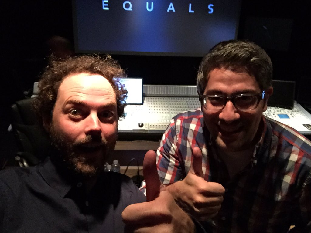 Mixing the #EQUALS trailer today with the great @jdfunari ! https://t.co/iBld9jjbtR