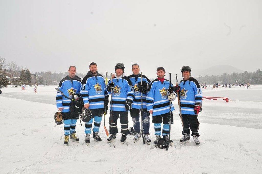 Jbag09 On Twitter Cannonsloose At The Lake Placid Pond Hockey
