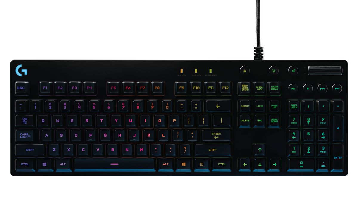 Logitech's G810 is a mechanical keyboard for both work and play
