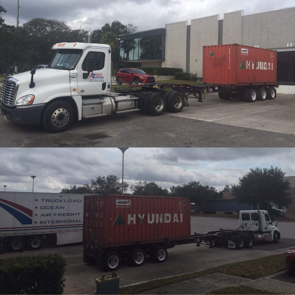 Overweight Container Trucking