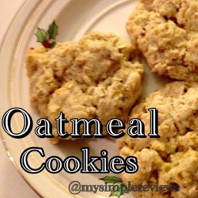 Easy Oatmeal Cookie Recipe