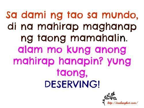 Quotes For Girls Tagalog HUGOT GIRLS.......:) o...