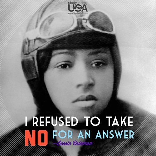 #BessieColeman = first African/Native American [woman] to hold int'l pilot license. #blackherstory #weenonline https://t.co/S9qmOs8Npl