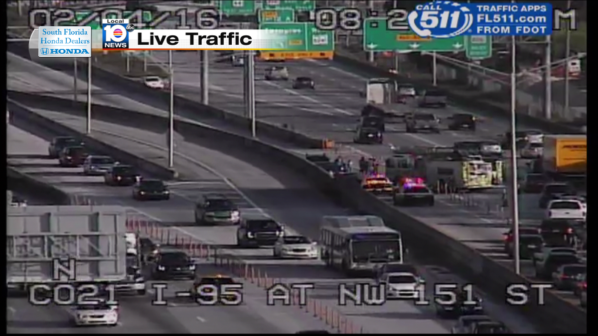 Street : Accident NB NW Street TRAFFIC MIAMI   WPLG Local 10