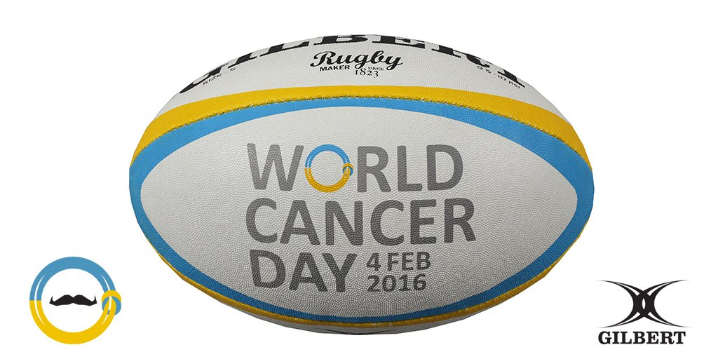 Gilbert Rugby On Twitter Win Our Special Worldcancerday Rugby Ball Simply Rt This To Enter The Draw Wecanican Movemberuk Https T Co Bqaxn6n1v9