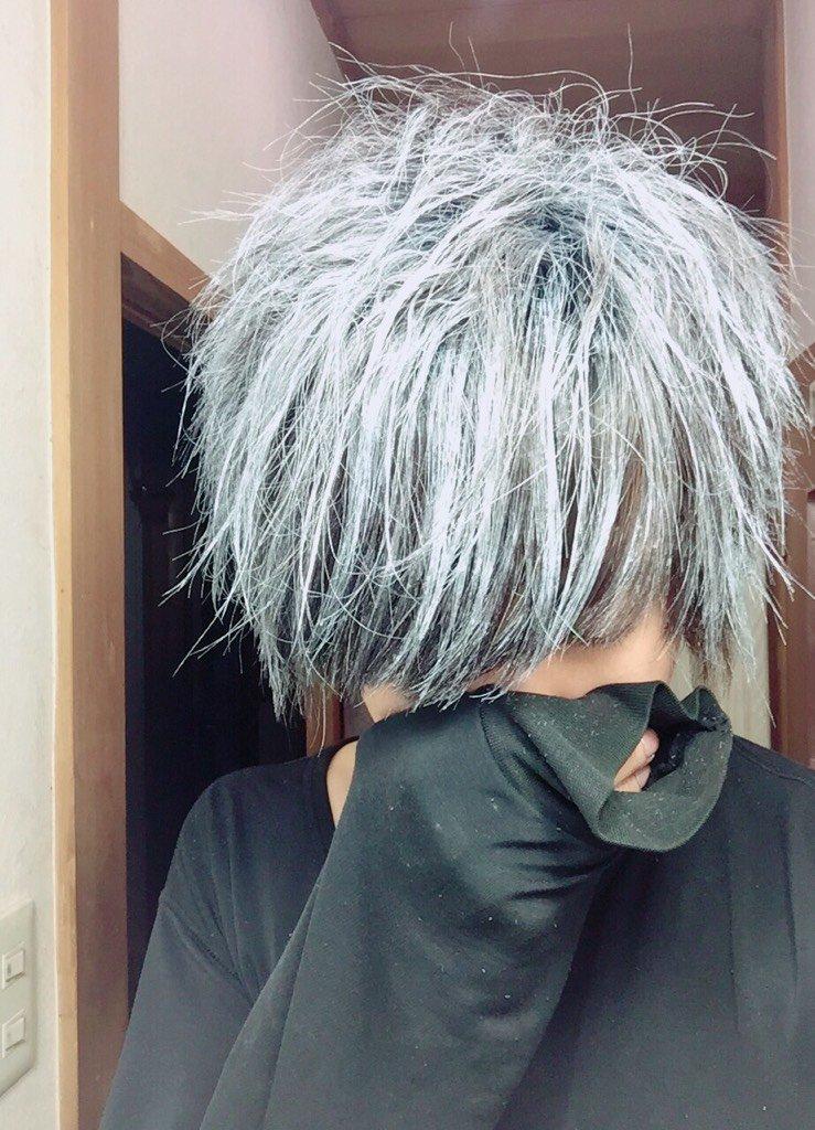 銀髪になるワックスやべぇwwwwwwwwwwwwwwwwwwすごぉ https://t.co/HnrLF2Lieb