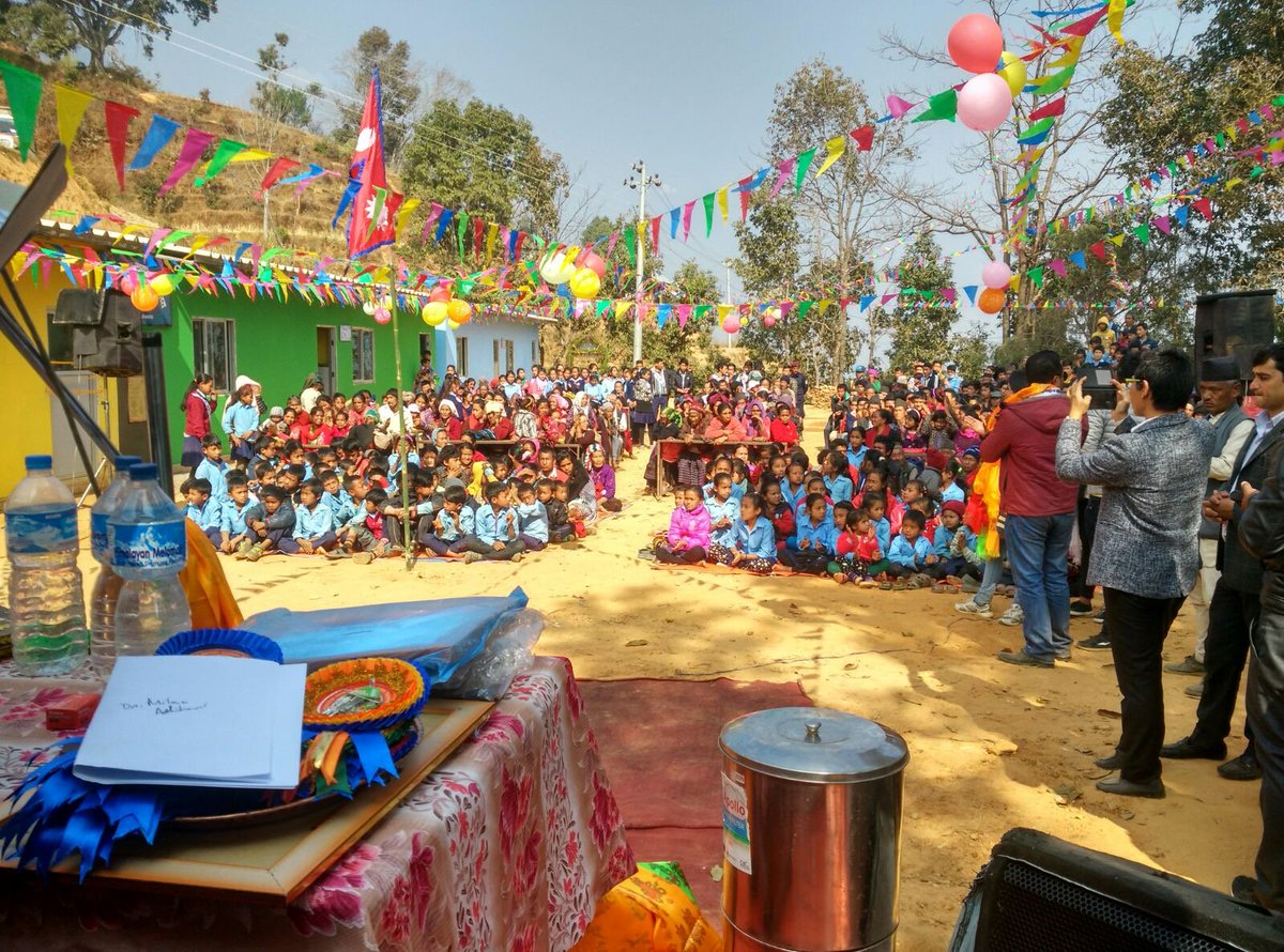 Thumbnail for Twenty more classrooms open in Sindhupalchowk!