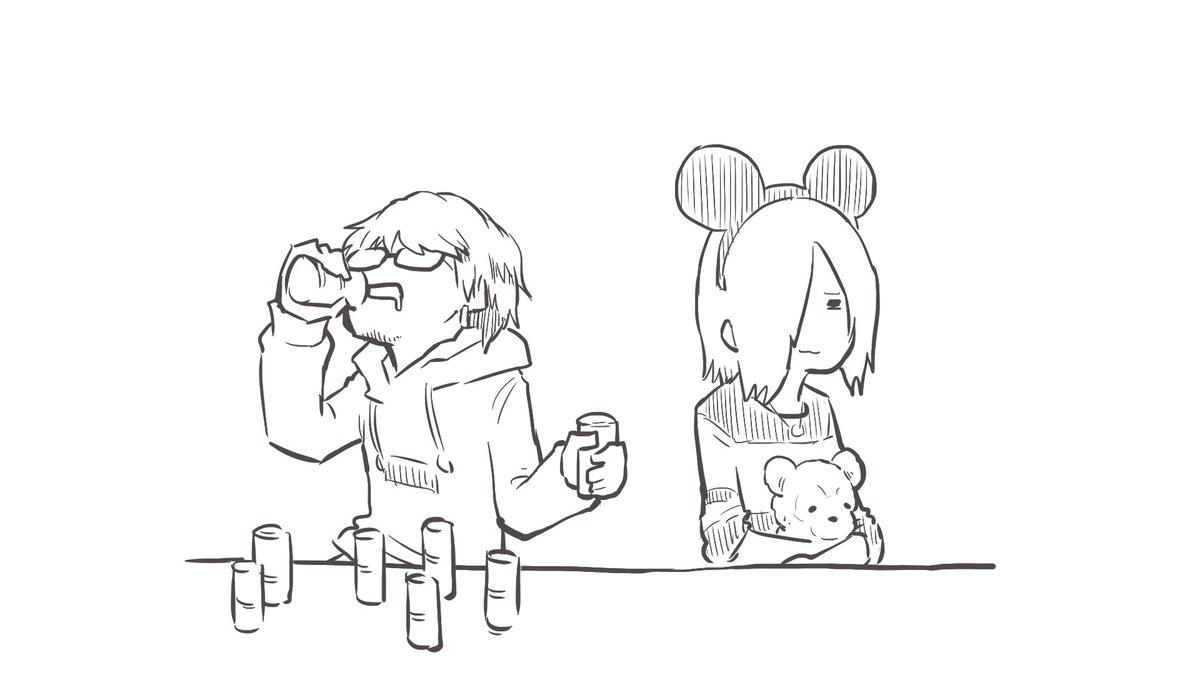 5月病マリオ On Twitter 本日のニコラジイラストvistlip 海さん瑠伊