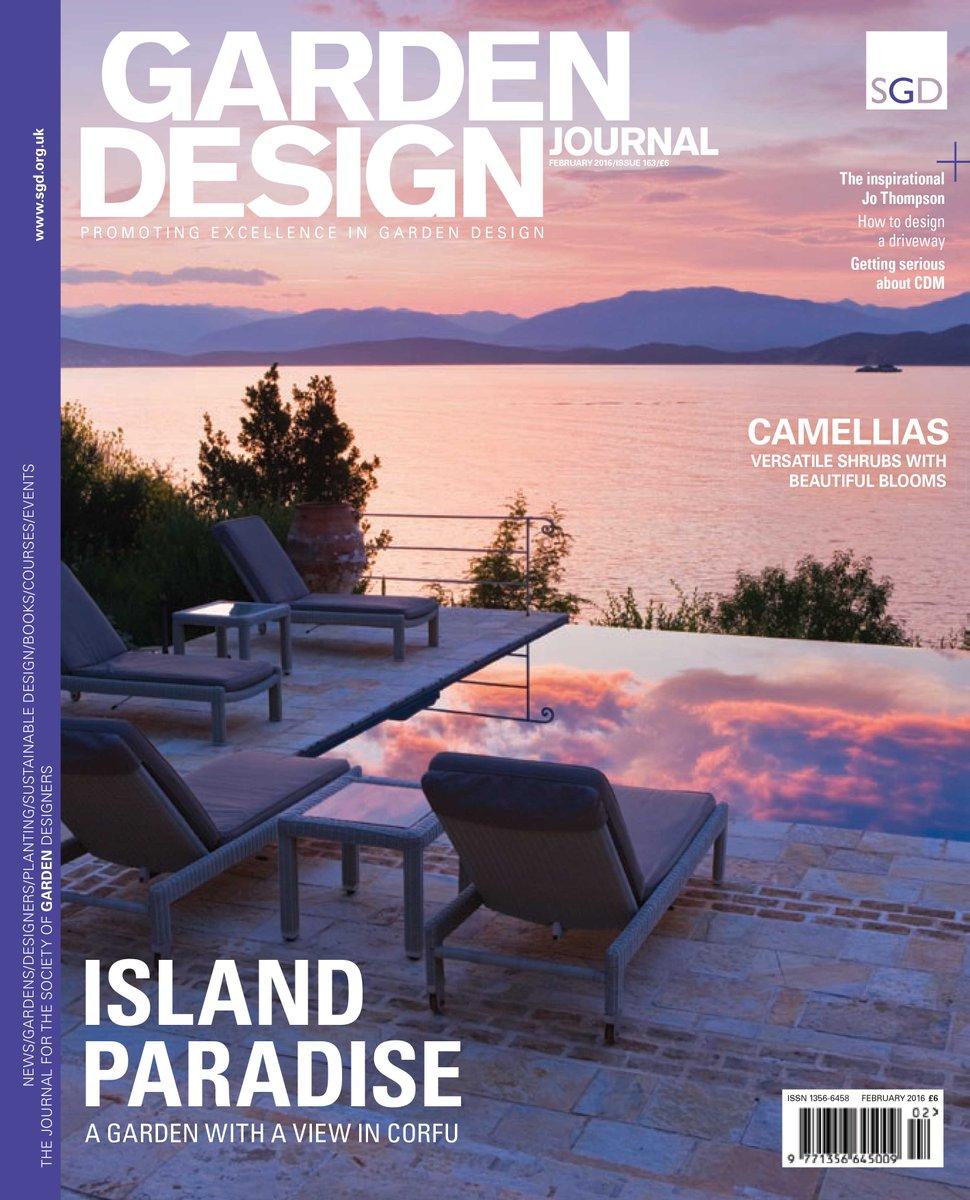 Stephanie Mahon on Twitter Feb issue of Garden Design Journal
