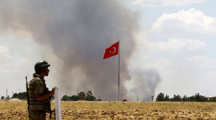 Турция готовит вторжение