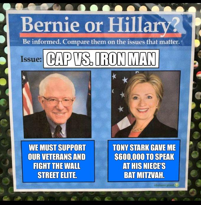 Bernie vs. Hillary: Civil War https://t.co/GDREIBrY0W