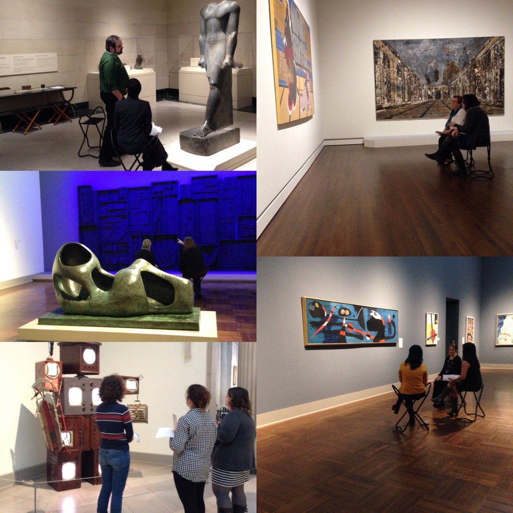 Experimenters in the galleries! #museummashup #museumed #iammuseumed https://t.co/SNgi6HsN2M