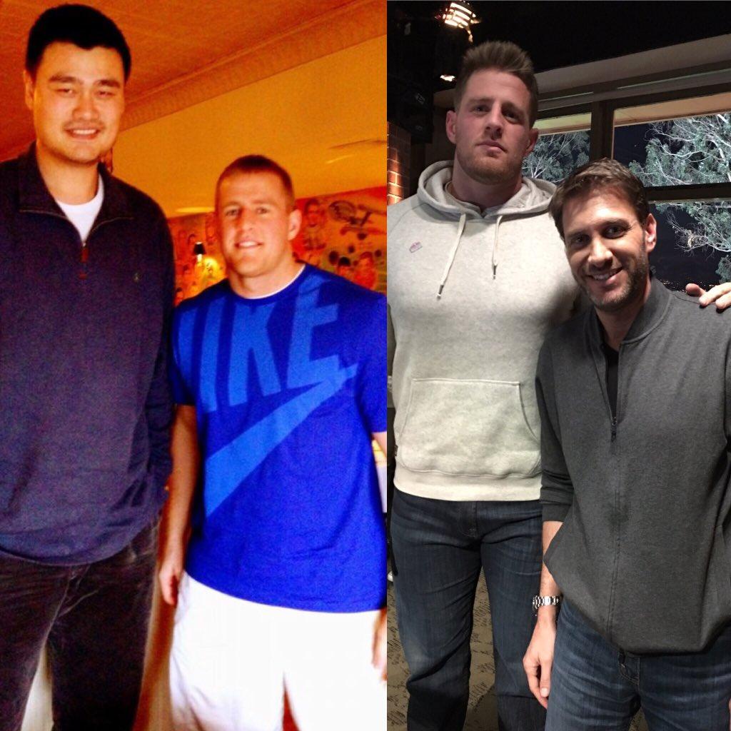 "7'6"" Yao Ming and his 6'4"" wie Ye Li : tall"