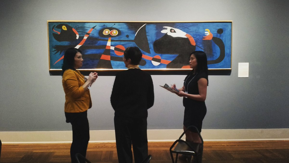 What #museummashup experience is this group planning for this work by Joan Miró? https://t.co/nGsN4hkJjg