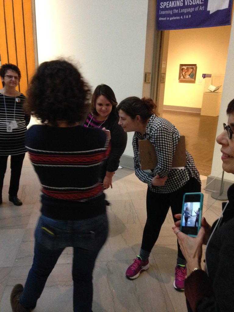 Sharing dancing photos & stories inspired by Nam June Paik #MuseumMashup https://t.co/Pcofx9xDVV