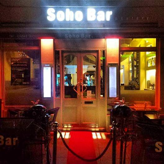 Soho bar cheltenham