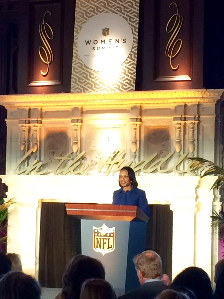 """Sports is still, for me, a way to challenge myself."" - @CondoleezzaRice #InTheHuddle https://t.co/gF0PGK4GcX"