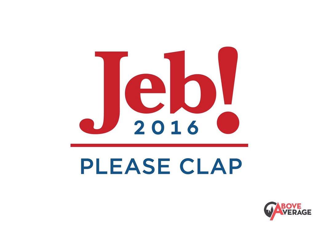 Jeb Bush throws a tantrum when asked about his logo