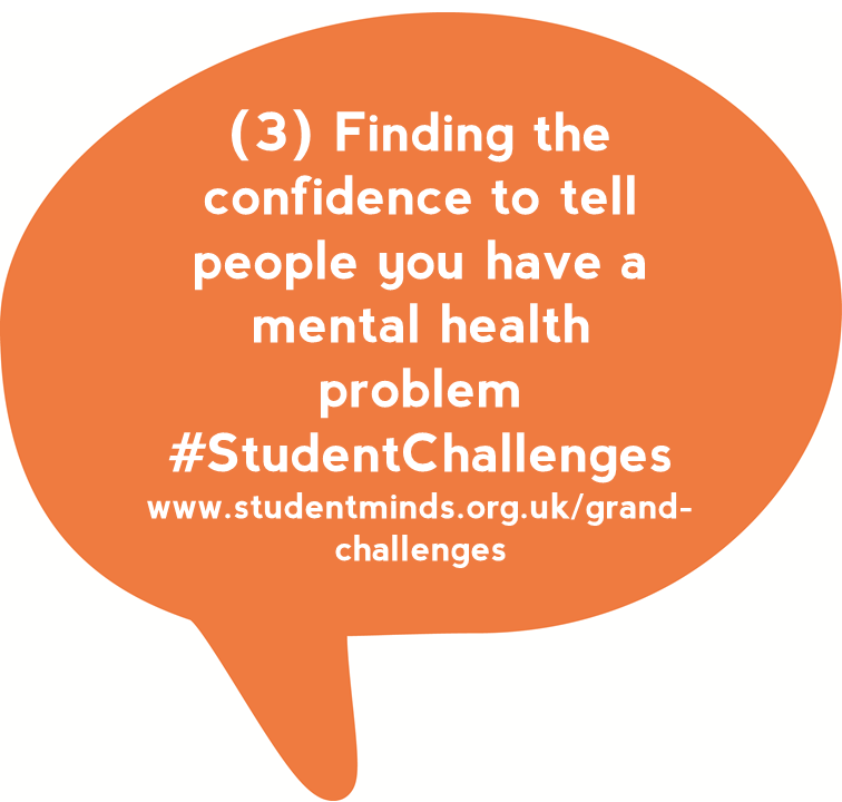 @StudentMindsOrg People struggled to find the confidence to tell someone about their #mentalhealth #StudentChats https://t.co/Mco0Cdim1X