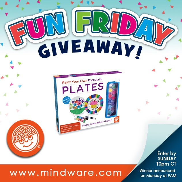 Happy Friday! Enter to win Make Your Own Porcelain Plates here: https://t.co/XQItIfHrfi #entertowin #giveaway https://t.co/xIirEFX5Fy