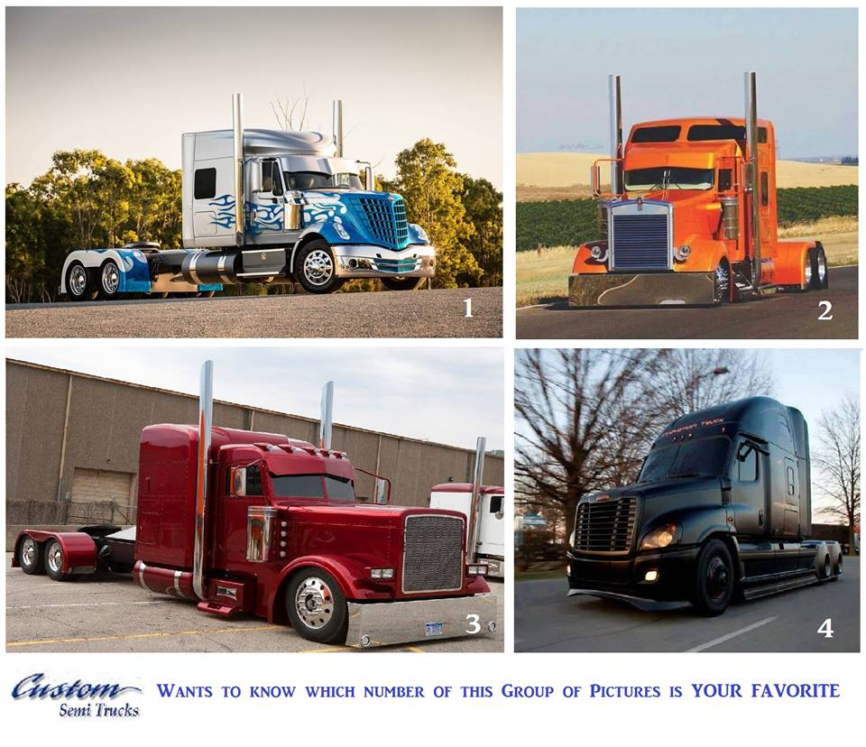 Custom Semi Trucks Customsemitruck