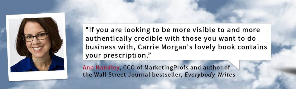 What does @AnnHandley have to say about Above The Noise? #PRprochat  https://t.co/MpJvOCExi9 https://t.co/5ATonk7wRi