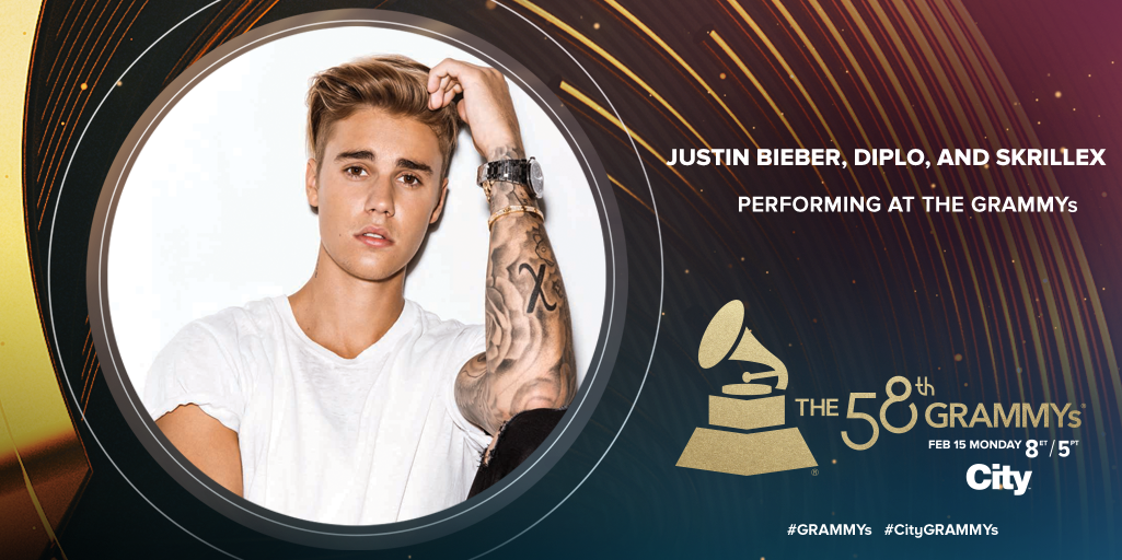 Don't miss @justinbieber, @diplo & @Skrillex's 1st performance on live TV on the #GRAMMYs stage on Feb 15 8ET/5PT! https://t.co/hnvwzsrkzD