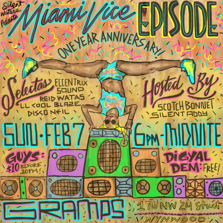 Miami crew roll out this Sunday @silentaddy @exccentrixsound https://t.co/O44vQSJ2HU