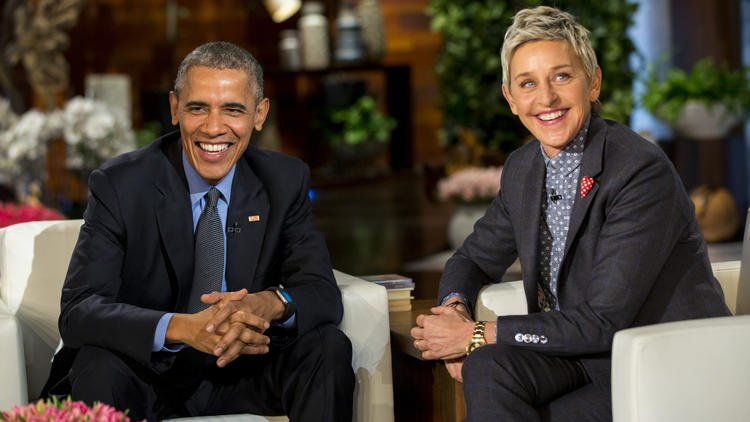 From pedicures to Instagram, Obama tells all on 'Ellen' -- but did he dance?