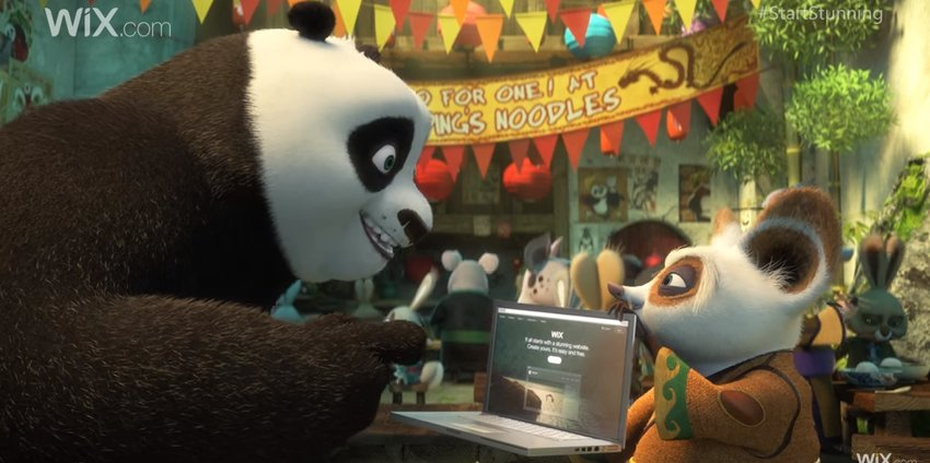 A hilarious new ad see Kung Fu Panda mimic iconic #ads - watch it here: https://t.co/PqA1RfMwvp https://t.co/dEozEgCxlJ