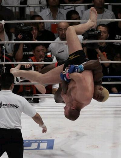 RT @TommyToeHold: Very sad to hear about Kevin Randlemen's passing. Enjoyed his fights greatly. Most iconic slam in MMA history IMO. https:…