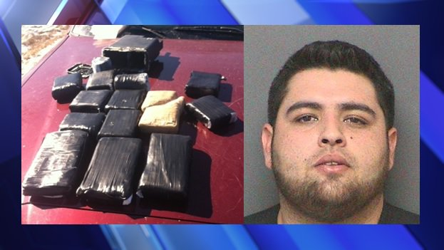 Arizona man arrested in Morgan County after police find $360K in heroin, cocaine in car