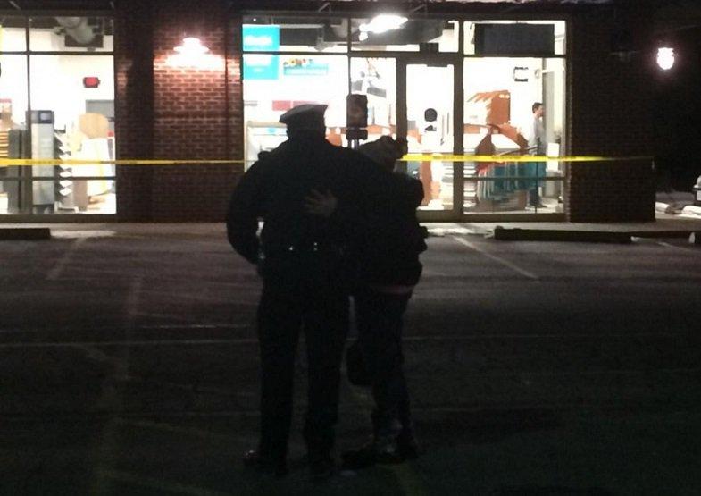 Police say 4 people were injured in machete attack at Nazareth Restaurant.