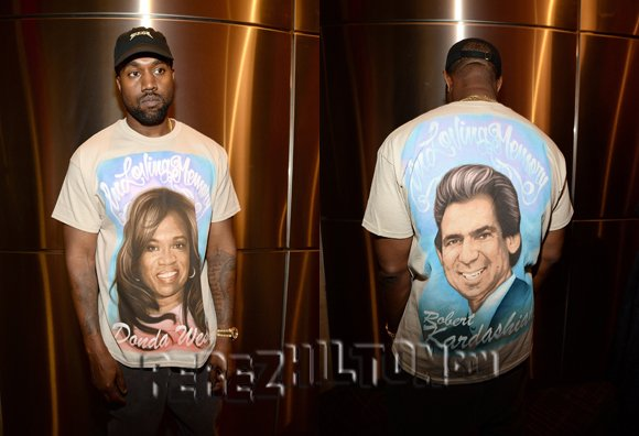 #KanyeWest pays a touching tribute to #DondaWest and #RobertKardashian https://t.co/AqmXAf95fO https://t.co/H1YFqX6WF0