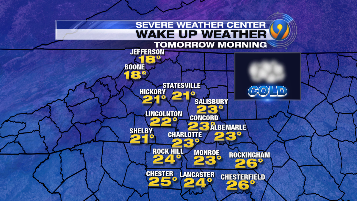 Another batch of arctic air is on its way. Watch EWN at 11 for what to expect for your morning commute