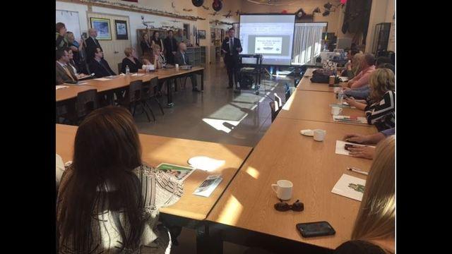 Students showcase their talents at CCSD's 'Futureready' tour 8NN