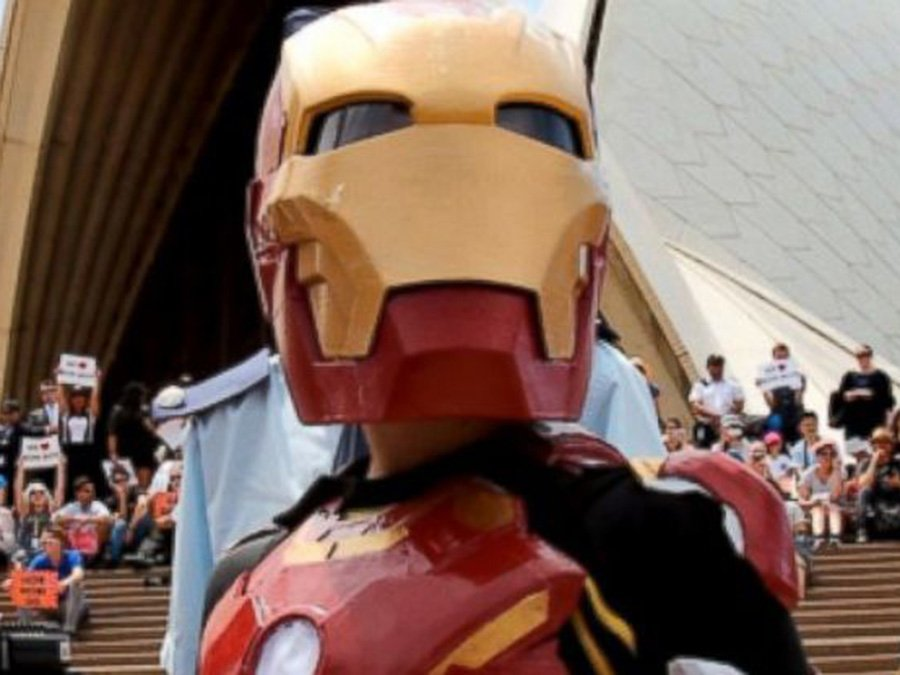9-year-old with cystic fibrosis becomes 'Iron Boy' for the Day in Australia: IronBoyAU