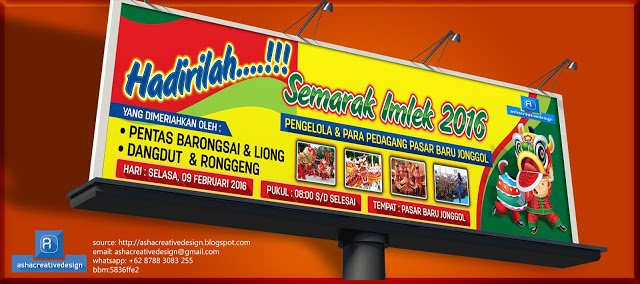 Asha Creative Design On Twitter Contoh Desain Banner Imlek Https