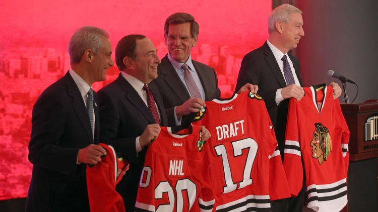 Feeling a draft? Chicago, already host of NFL draft, will host 2017 NHL draft