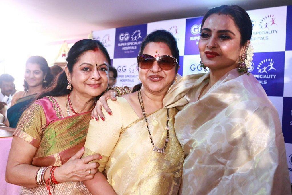 "Tamil Movie Actor Gemini Ganesan: Radikaa Sarathkumar On Twitter: ""Congrats Dr.Kamala"