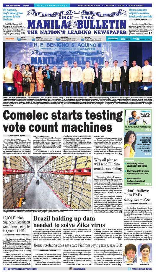 Manila Bulletin : Manila Bulletin | Manila Bulletin News