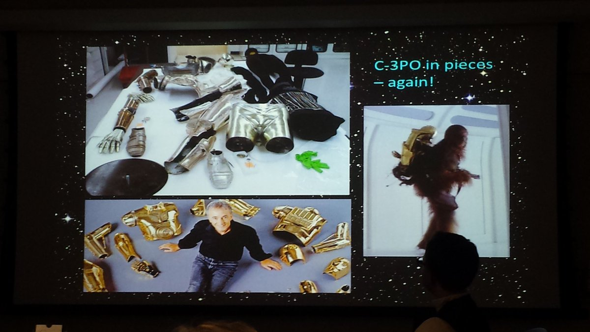 Team Star Wars presents a rebuttal featuring the conservation of C3PO #WCGTrekWars https://t.co/85NTxrOD2J