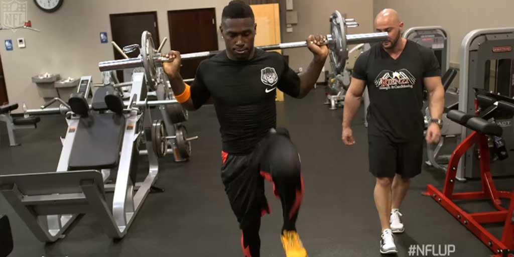Want to train like NFL players?  @AntonioBrown84 & Co. share their workout routines:  #NFLUP