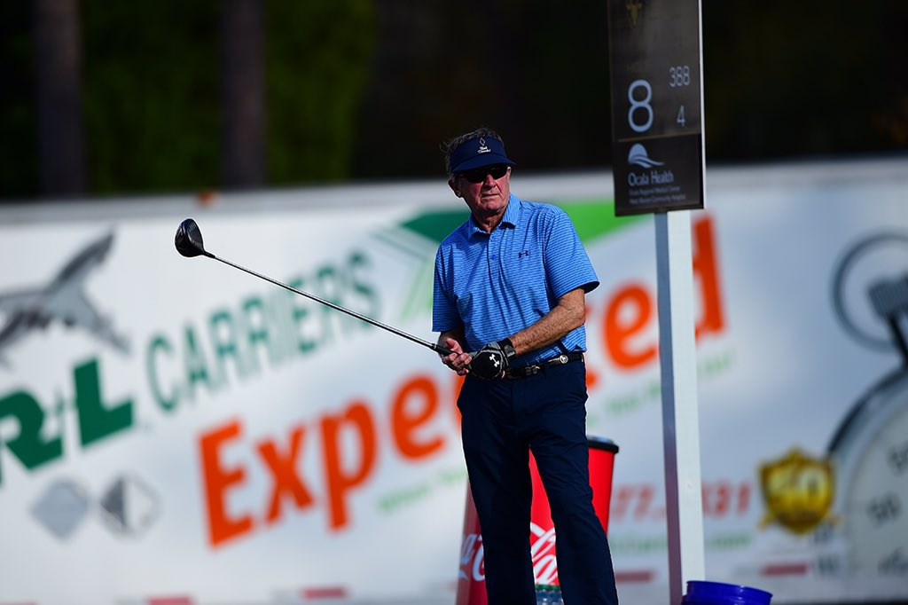 RT @rlcarriers: #ICYMI The Ol' Ball Coach Steve Spurrier in the @CoatesGolfChamp Pro-AM. #TheCoates #RLDrives https://t.co/2Y2Dc8cafP